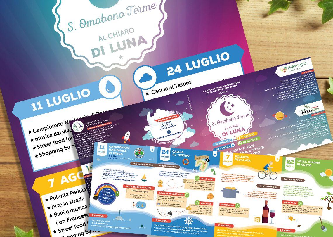 Sant'Omobono al chiaro di Luna - Brochure e locandina