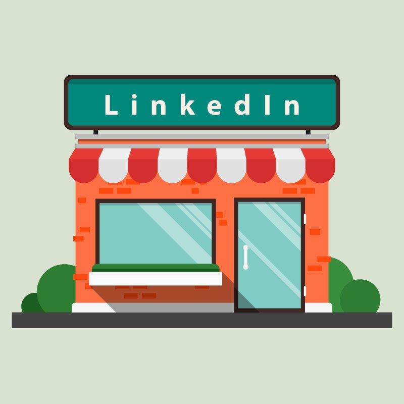 Pagina vetrina su LinkedIn