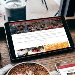 pasticceria acquario sito web responsive