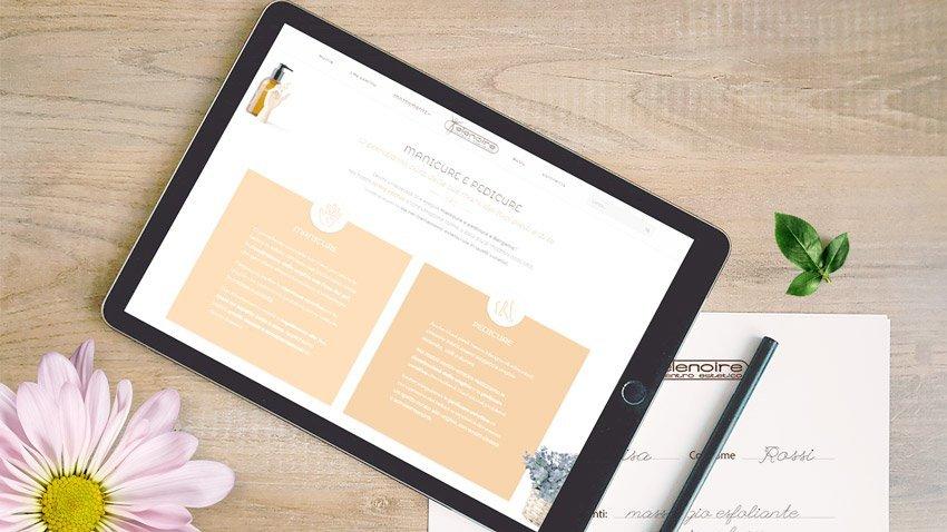 dingolab-portfolio-centro-estetico-elenoire-mockup-tablet-elementi