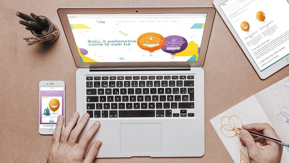 realizzazione sito e-commerce balù